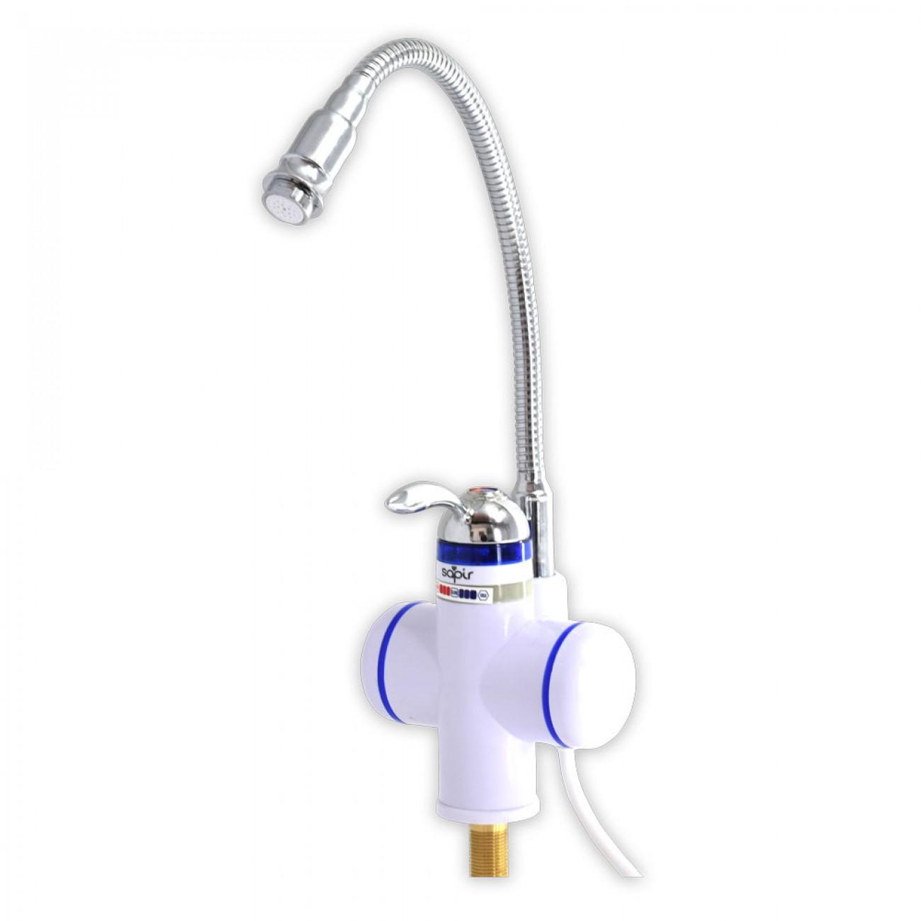 Нагревател за вода с подвижен чучур SAPIR SP 7100 DEF, 3000 W, До 55° топла вода, Монтаж на плот в Нагреватели за вода - Бойлери - SAPIR | Alleop
