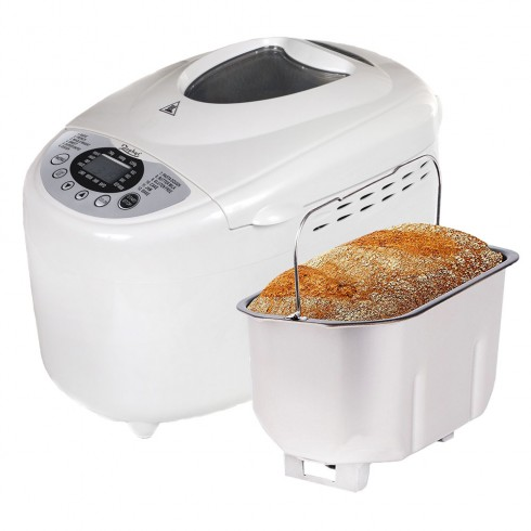 Хлебопекарна с две бъркалки ZEPHYR ZP 1446 A, 850W, 1250 гр, 12 програми, Таймер, Безглутенов хляб, Рецепти в Хлебопекарни - ZEPHYR | Alleop