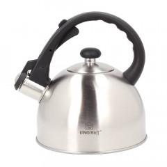 Свирещ чайник Kinghoff KH 3324, 2 литра, Индукция, Инокс