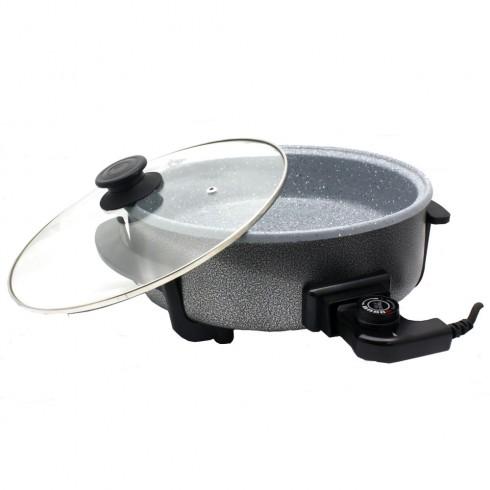 Мултифункционален ел. тиган ел. тава ZEPHYR ZP 1010 ADM, 30 см, 1500 W, керамично покритие в Multicooker & Уреди за готвене - ZEPHYR | Alleop