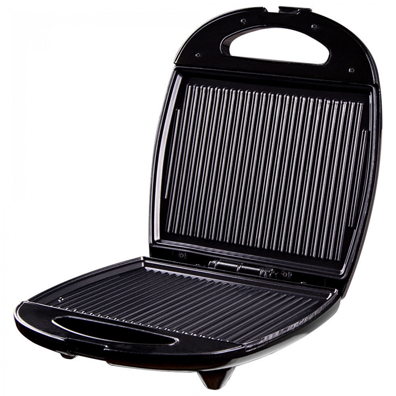 Сандвич тостер за 4 филийки SAPIR SP 1442 AM, 1200 W, Незалепващи плочи, Черен в Сандвич тостери - SAPIR | Alleop