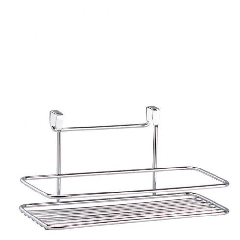 Поставка за баня TEKNO TEL TR SF 004, Едно ниво, 14x25x12 см, Окачена система, Хром в Закачалки и поставки за баня и тоалетна - TEKNO TEL | Alleop