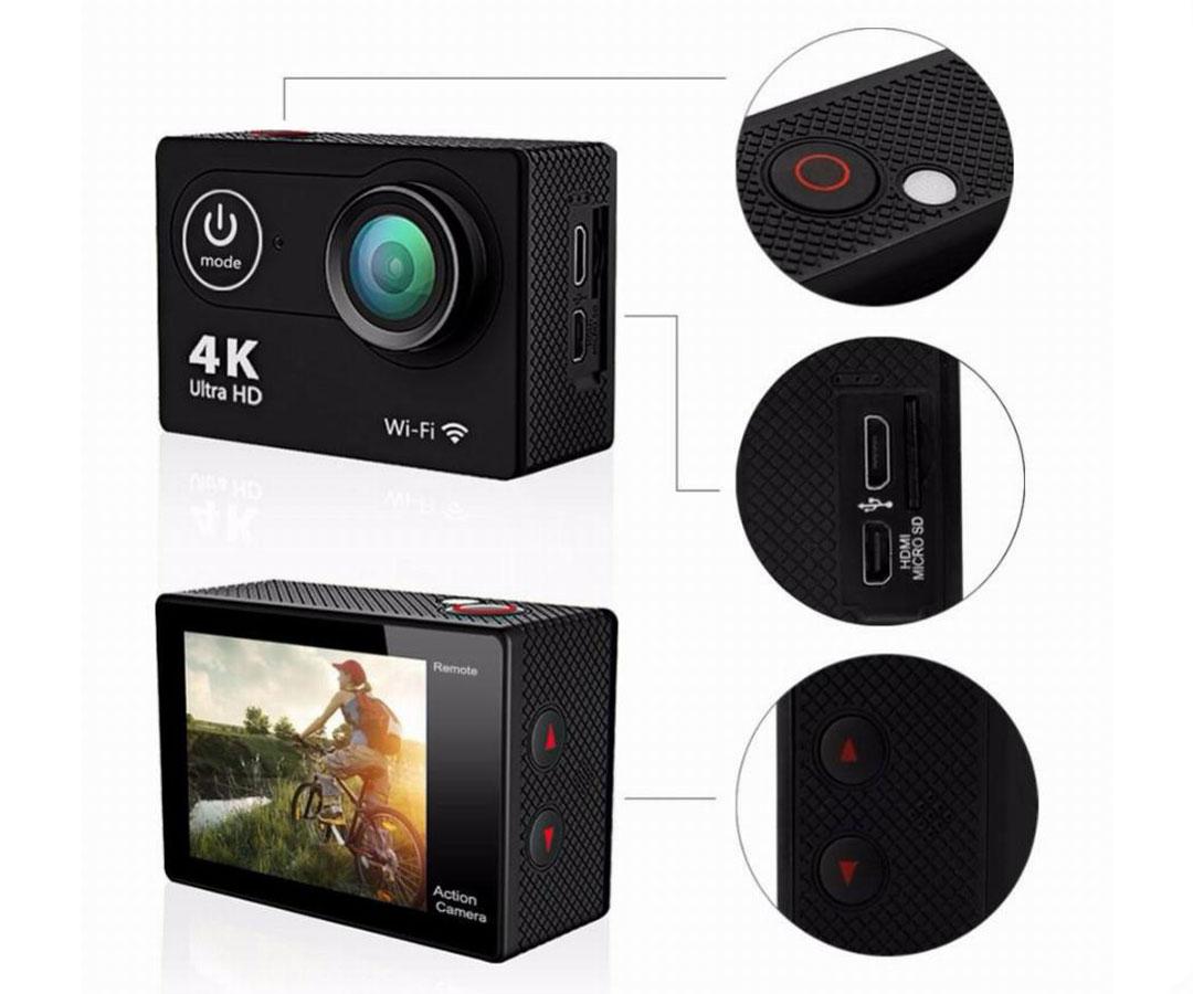 Екшън камера SJ9D - функционална и удобна