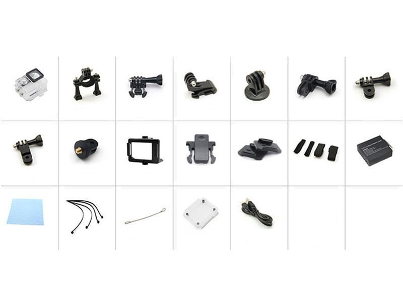 Екшън камера SJ9D, 4K Ultra HD с пълен комплект аксесоари