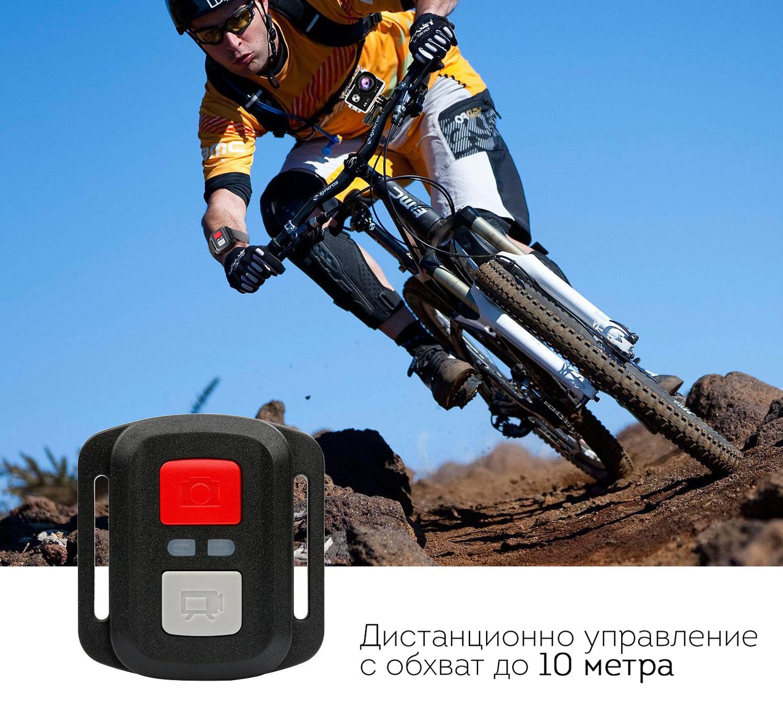 Екшън камера SJ9D, 4K Ultra HD с дистанционно управление