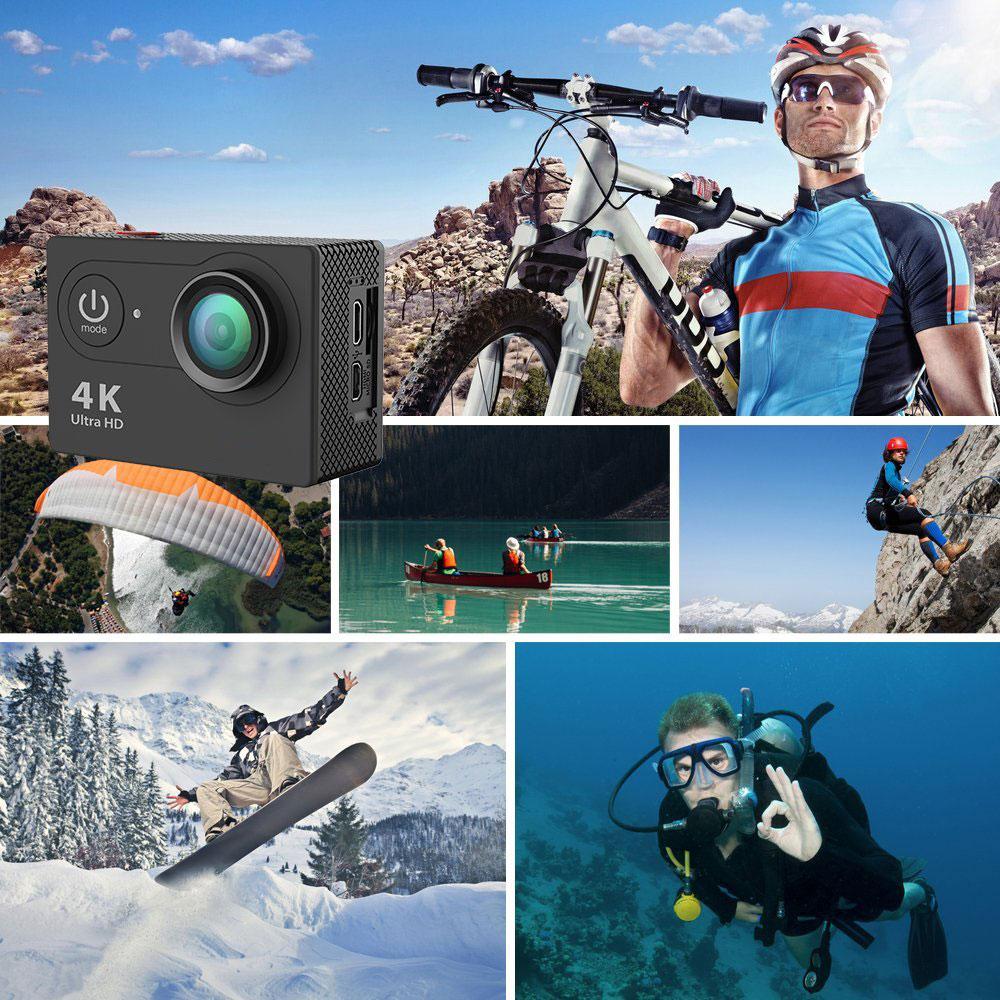 Водоустойчива екшън камера SJ9D - ВОДНИ СПОРТОВЕ, МОТОРНИ СПОРТОВЕ, ВЪЗДУШНИ СПОРТОВЕ, ЗИМНИ СПОРТОВЕ, ЛОВ И РИБОЛОВ