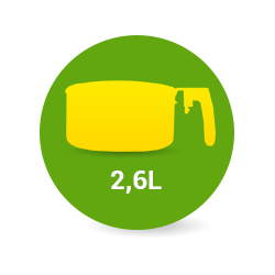 Уред за здравословно готвене Zephyr с капацитет от 2,6 литра