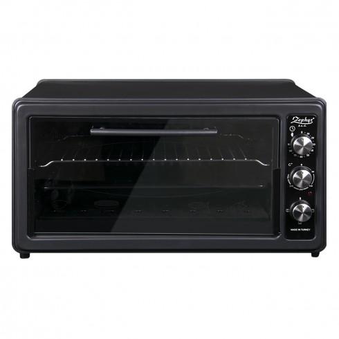 Готварска печка ZEPHYR ZP 1441 T40, 1400W, 40 литра, Терморегулатор, Таймер, Тава 34 см, Черен в Готварски печки - ZEPHYR | Alleop