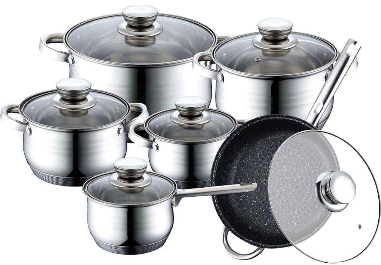 Bachmayer bm 1202 комплект съдове за готвене