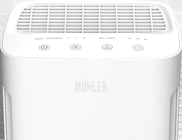 Пречиствател на въздух MUHLER APM-200UV с функция Sleep - Alleop.bg