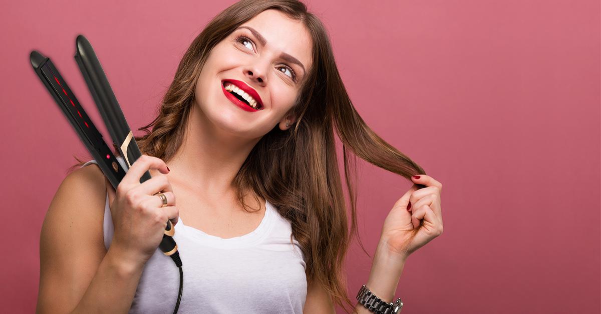 преса за коса sapir с инфрачервени светлини и керамично покритие