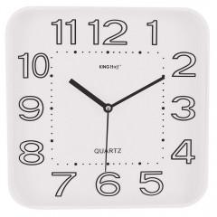 Стенен часовник KingHoff KH 1019, 30.3 см, Аналогов, Бял