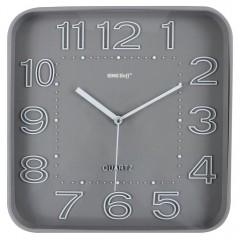 Стенен часовник KingHoff KH 1019, 30.3 см, Аналогов, Сив
