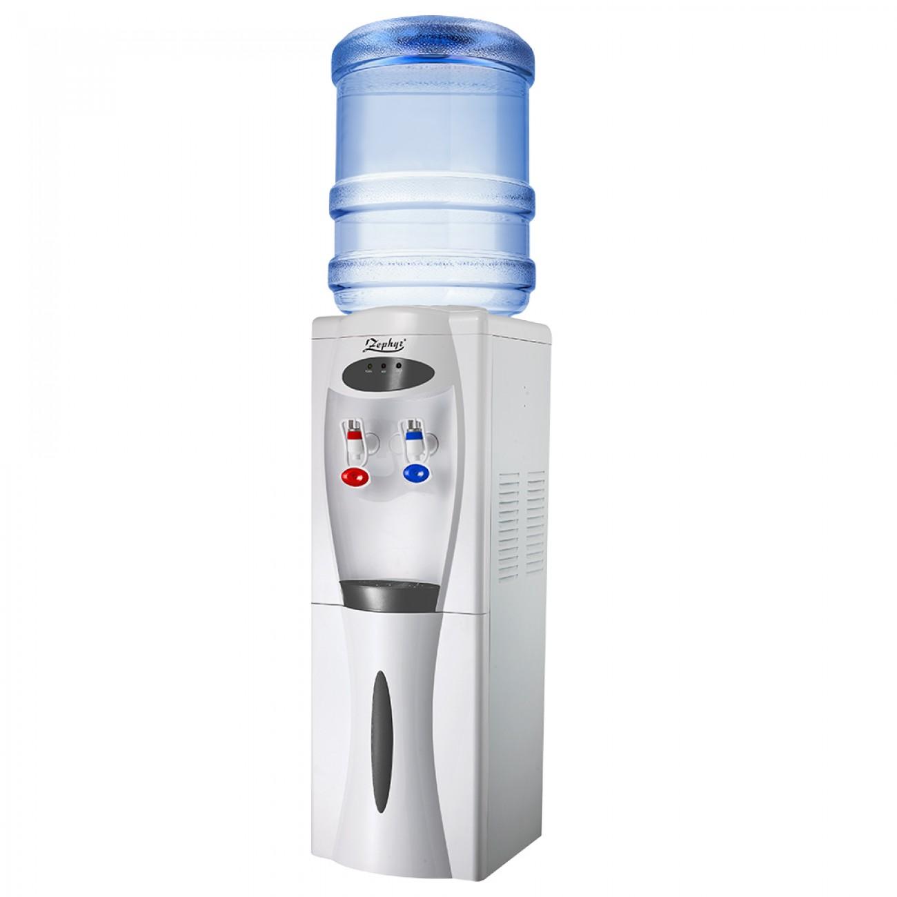 Диспенсър за вода с компресорно охлаждане ZEPHYR ZP 1449 ACB,  Загряване: 500W, Охлаждане: 120W, Бял в Диспенсъри за вода - ZEPHYR | Alleop