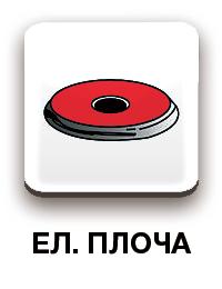 bachmayer 1202 комплект тенджери за електрически котлони
