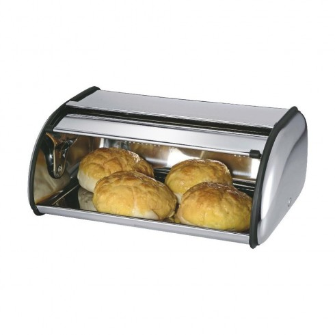 Кутия за хляб SAPIR SP 1225 BA, 35.5 см, Инокс в Кутии за хляб - SAPIR | Alleop