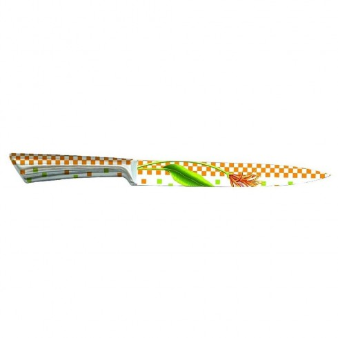 Кухненски нож ZEPHYR ZP 1633 NC, 20 см, Неръждаема стомана, Цветна щампа в Единични ножове - ZEPHYR   Alleop
