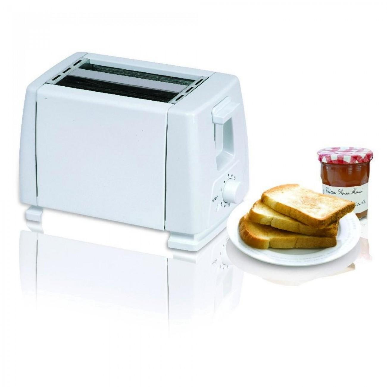 Тостер за хляб SAPIR SP 1440 B, 750W, За 2 филийки, 6 степени на запичане, Бял в Тостери за хляб - SAPIR   Alleop