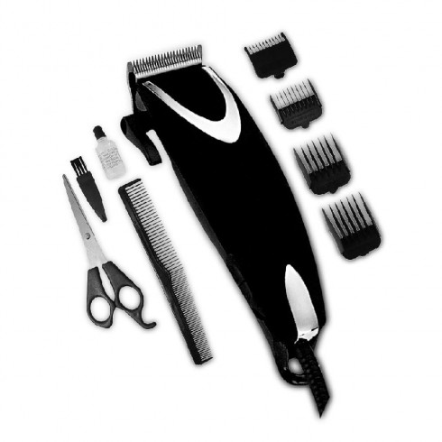 Машинка за подстригване SAPIR SP 1810 U, 9W, Черен/Сребрист в Машинки за подстригване - SAPIR | Alleop