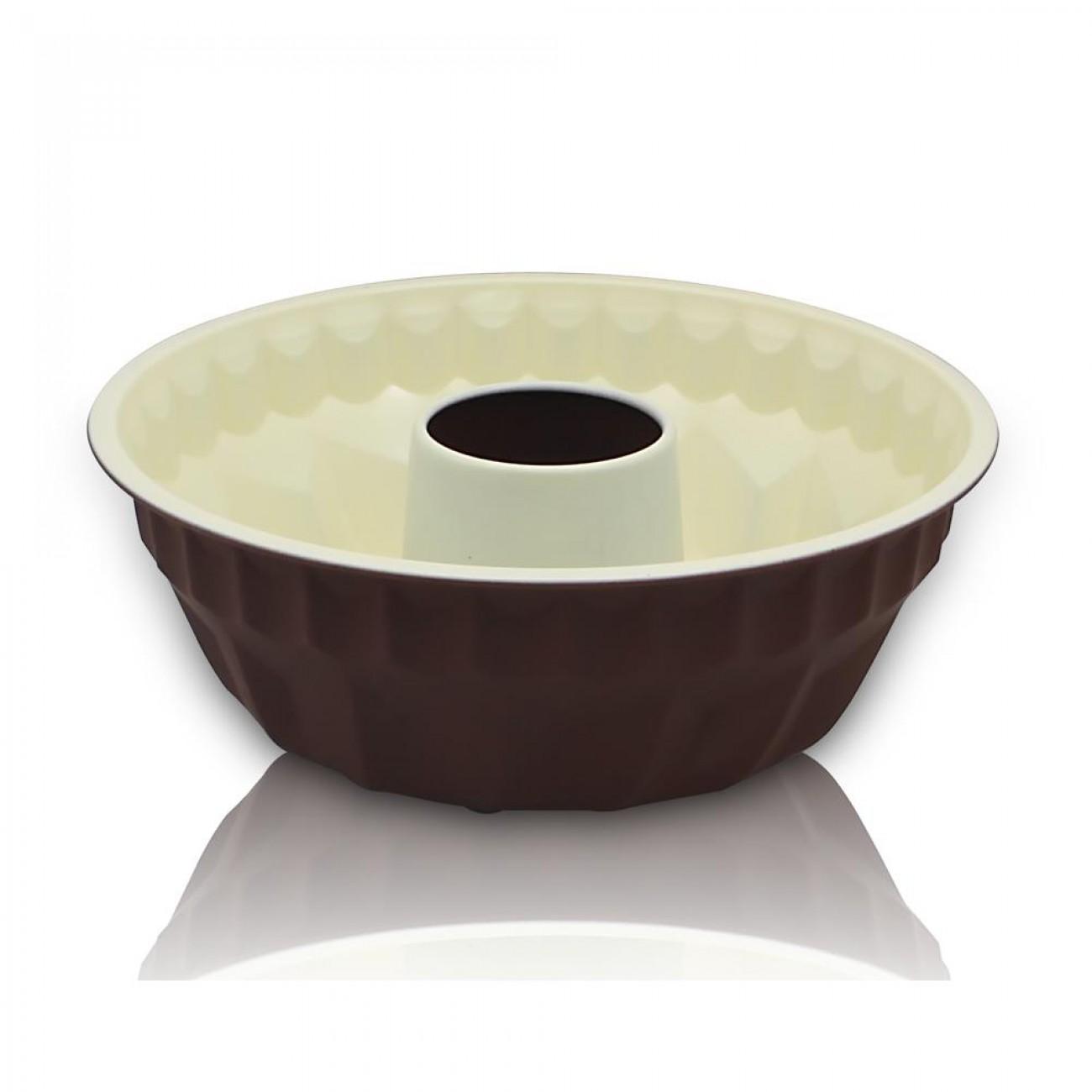 Форма за кекс SAPIR SP 1223 DC2, 21.5 см, Керамика, Незалепващо покритие в Форми за сладкиши - SAPIR   Alleop
