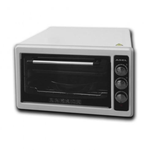 Готварска печка- фурна ASEL AL AF 0023, 1100W, 33 литра, Бял в Готварски печки - ASEL | Alleop