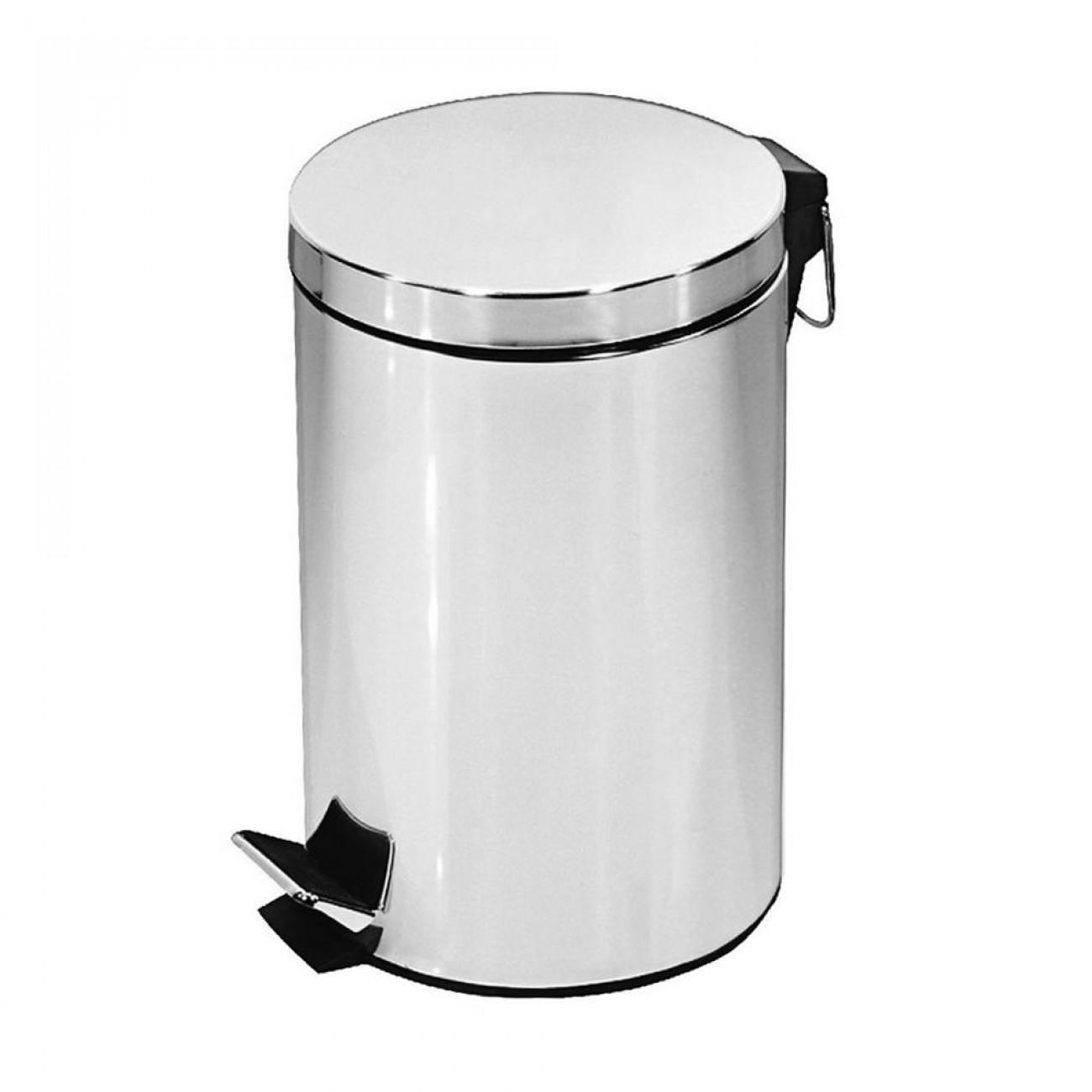 Кошче за боклук с педал SAPIR SP 3007 A, 3 литра, Хром в Кошчета за боклук - SAPIR | Alleop