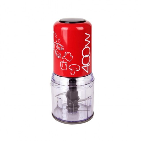 Чопър с два ножа ZEPHYR ZP 1111 K, 400W, 500 ml, Червен в Чопъри - ZEPHYR | Alleop