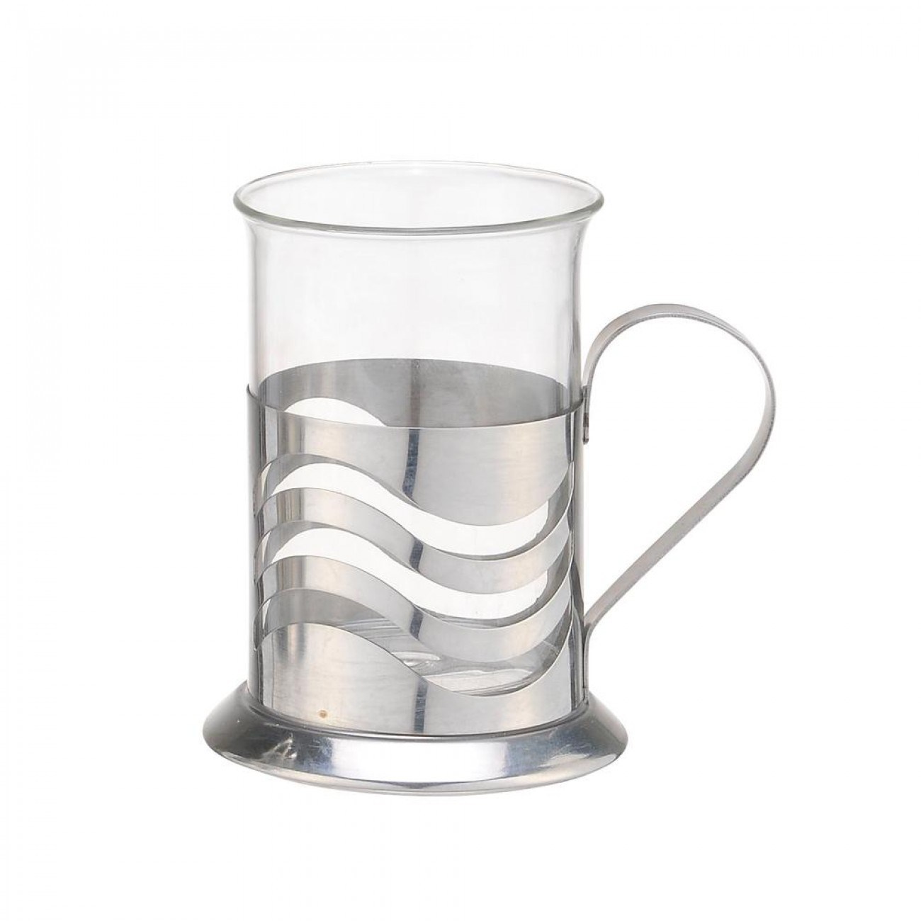 Комплект стъклени чаши SAPIR SP 1174 D200-2, 2 броя, 0.2 литра, Огнеупорно стъкло в Кафеварки за котлон - SAPIR | Alleop