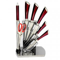 Комплект кухненски ножове и аксесоари ZEPHYR ZP 1633 P7AS, 8 части, Точило, Ножица