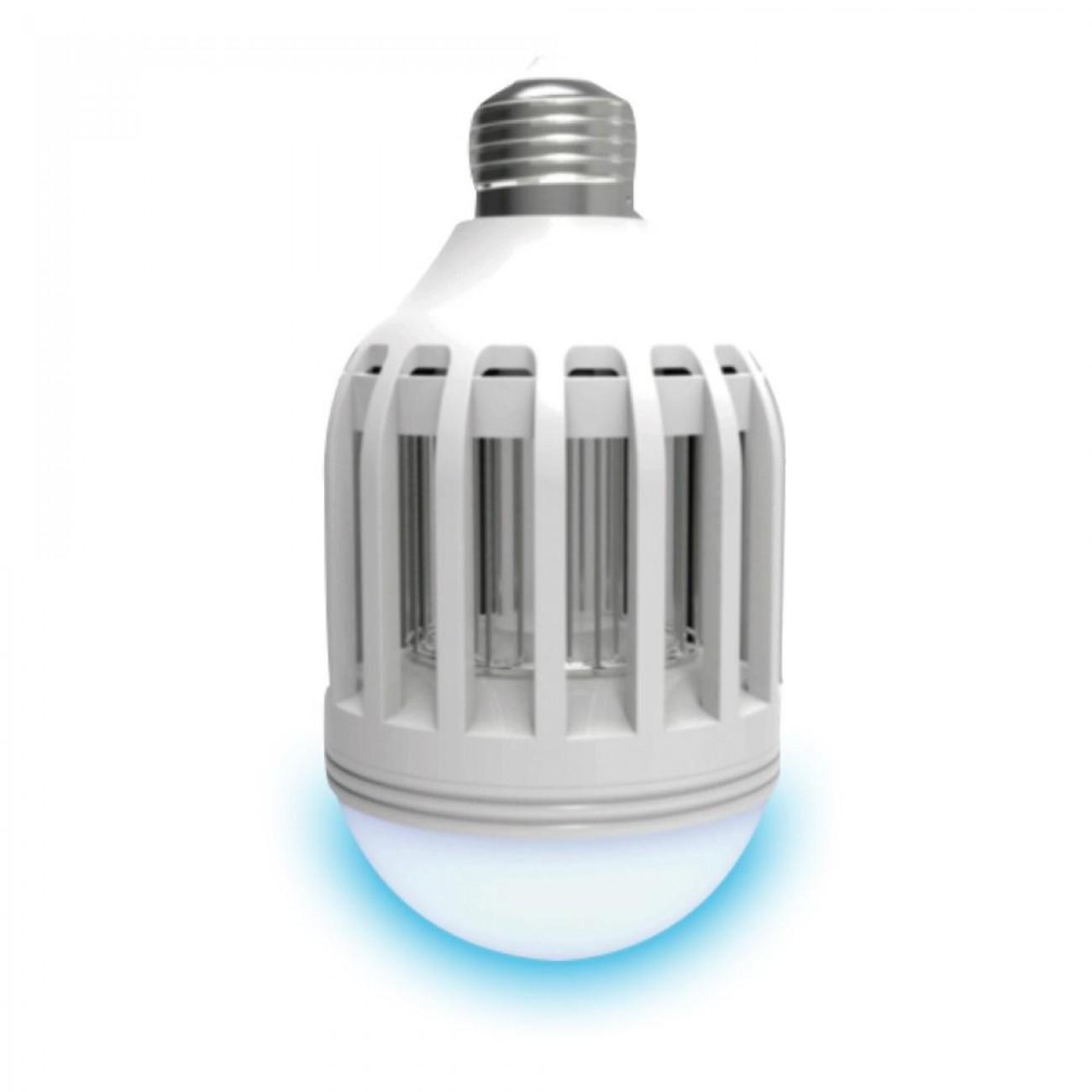 Крушка - лампа против комари SAPIR SP 8000 MQ10E27, LED, 10W,  3 режима на работа в Крушки - SAPIR | Alleop