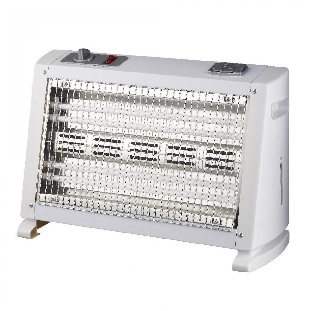 Кварцова печка SAPIR SP 1972 IFW, 1600W, 2 степени, Овлажнява въздуха, Вентилатор в Халогенни и кварцови печки - SAPIR | Alleop