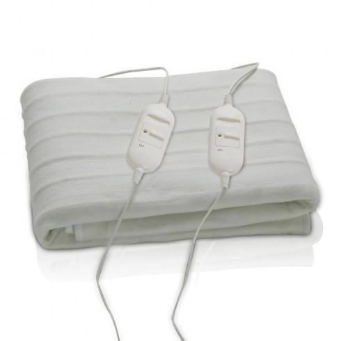 Електрическо одеяло - двойно SAPIR SP 8510 AD, 60W, 160x140 см, Защита против прегряване, Полиестер в Ел. одеяла и възглавници - SAPIR | Alleop