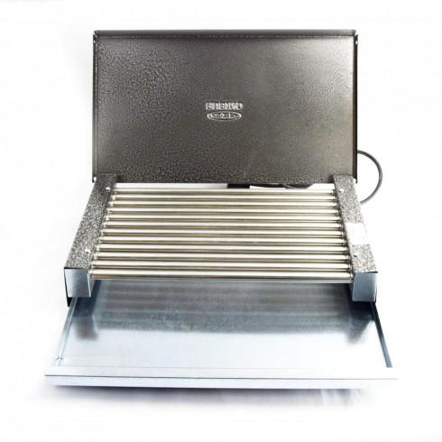 Електрическа скара с капак RUBINO ЕС 1.6К, 1600W в Електрически скари - Rubino | Alleop