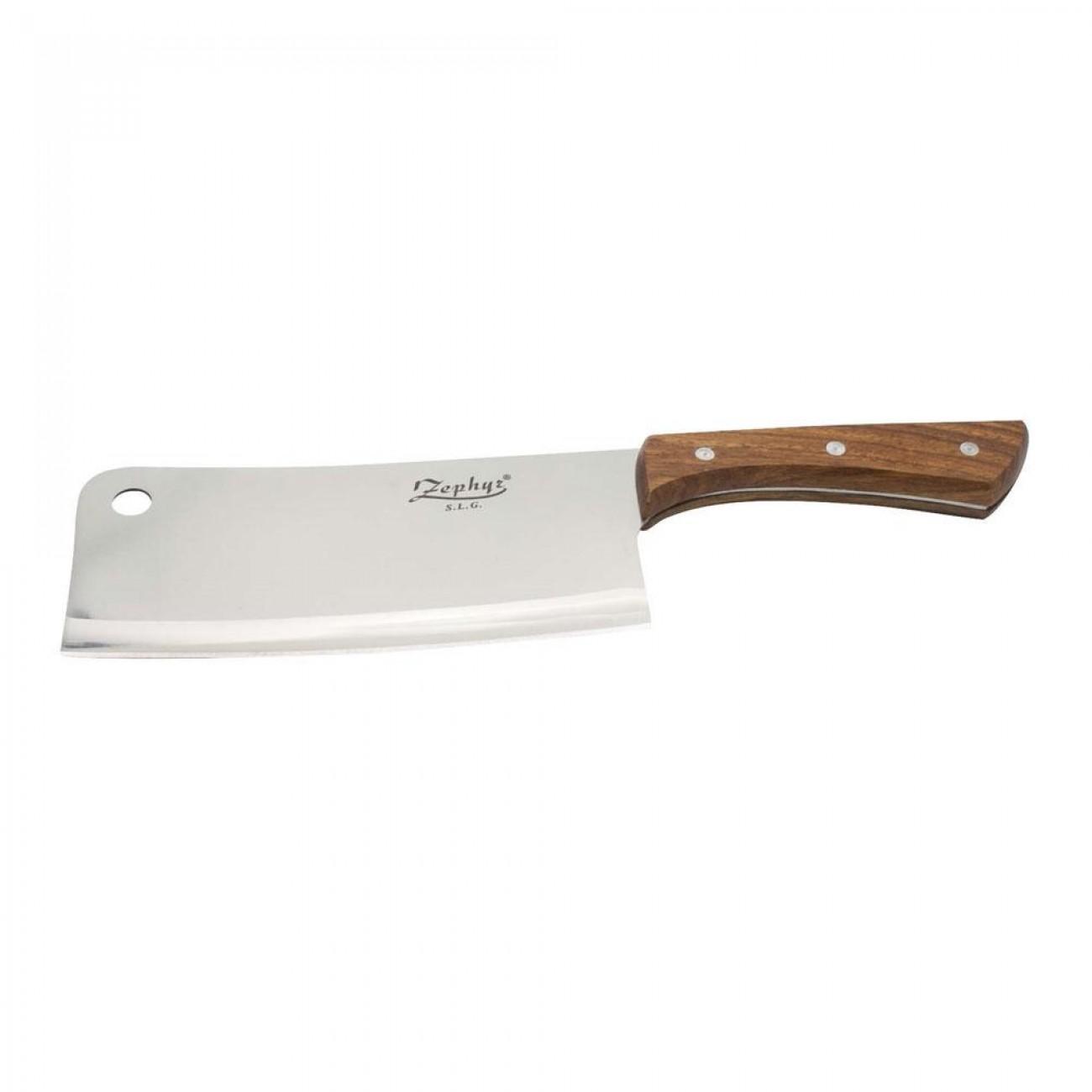 Сатър ZEPHYR ZP 1633 BCL,  Дървена дръжка в Единични ножове - ZEPHYR | Alleop
