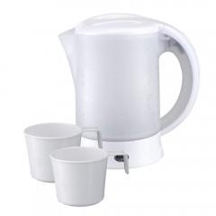 Електрическа кана туристическа SAPIR SP 1230 TC, 600 W, 2 чашки, Бял
