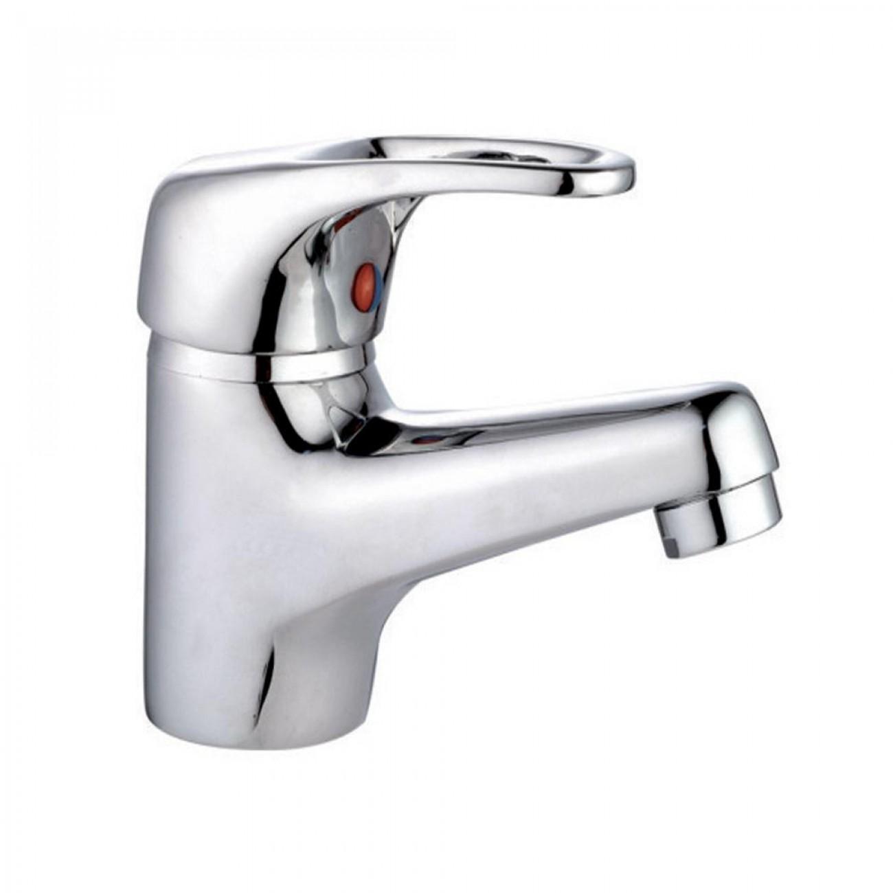 Смесител за баня SAPIR SP 7100 AZ1, Керамичен патрон, Цинк и хром в Смесители за мивки - SAPIR   Alleop