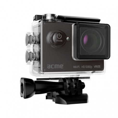 Спортна Екшън камера Acme VR05, Full HD(30FPS), 2.0 (5.08 cm) LCD дисплей, 12 Mpix, Wi-Fi, microSD слот, micro HDMI, micro USB в Видеокамери -  | Alleop
