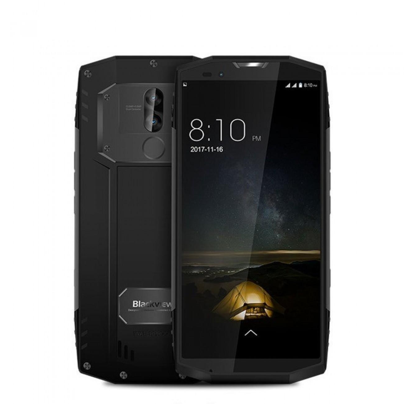 Blackview BV9000 Pro(сив), поддържа 2 sim карти, 5.7(14.48 cm) Full HD дисплей, осемядрен Helio P25 MTK6757CD 2.6GHz, 6GB RAM LDDR4, 128GB Flash памет(+microSD слот), 13&5 & 8.0 Mpix camera, Android, IP68 защита, 253 g в Мобилни телефони -  | Alle