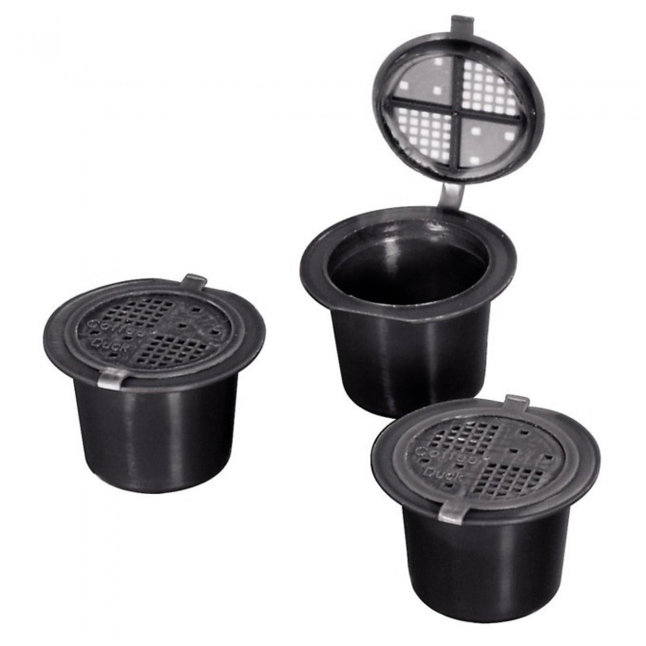 Капсули Xavax Coffeeduck, за Nespresso машини, 3бр., за многократна употреба в Кафемашини -    Alleop