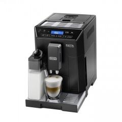 Автоматична еспресо машина Delonghi ECAM ELLETA 44.660 B, 1450 W, 15 bar налягане, дисплей, автоматично почистване, черна