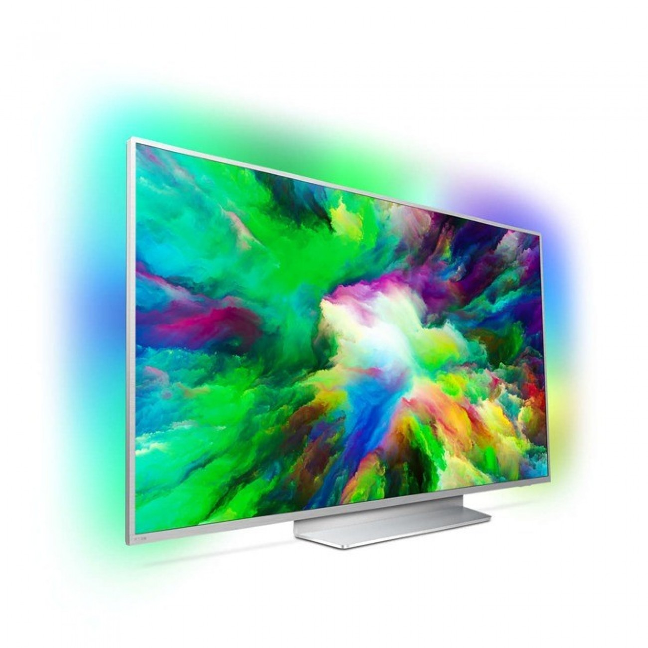 Телевизор Philips 49PUS7803/12, 49 (124.46 cm) 4K Utra HD Smart LED TV, DVB-T/T2/T2-HD/C/S/S2, LAN, Wi-Fi, 4x HDMI, 2x USB, Android в Телевизори -  | Alleop