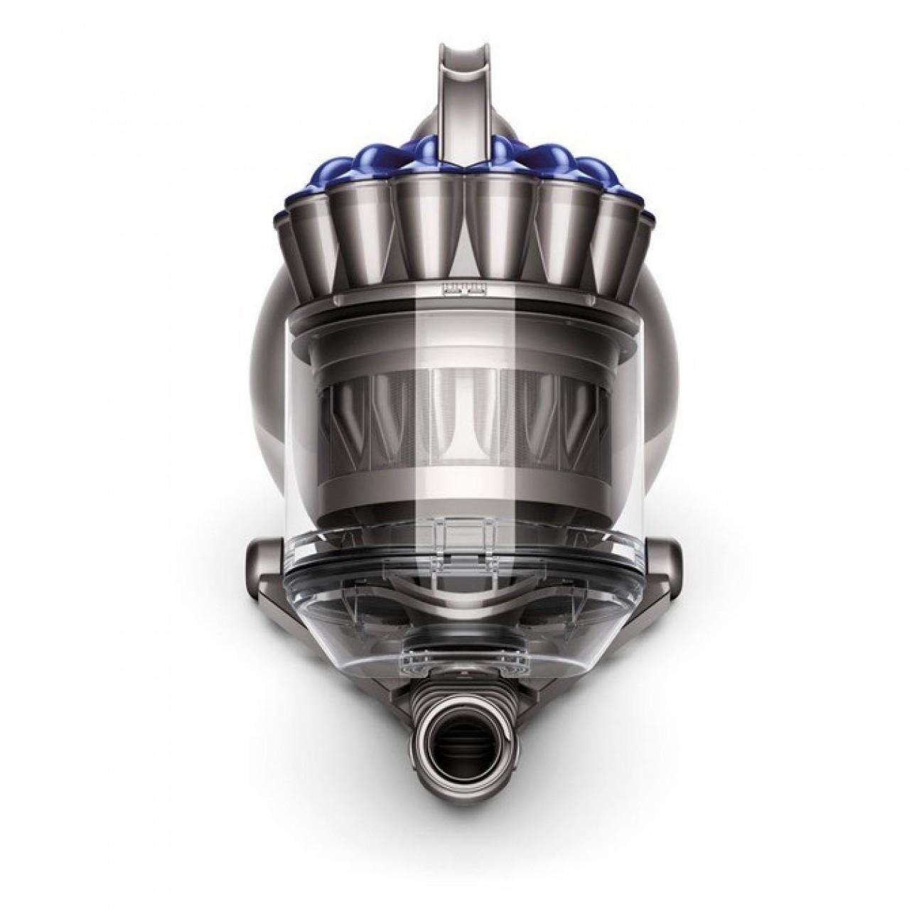 Прахосмукачка Dyson BALL UP TOP, без торба, 1.8L вместимост на контейнера, 600W, цифрово управляем мотор, специално шаси за прецизна маневреност, сива в Прахосмукачки -  | Alleop
