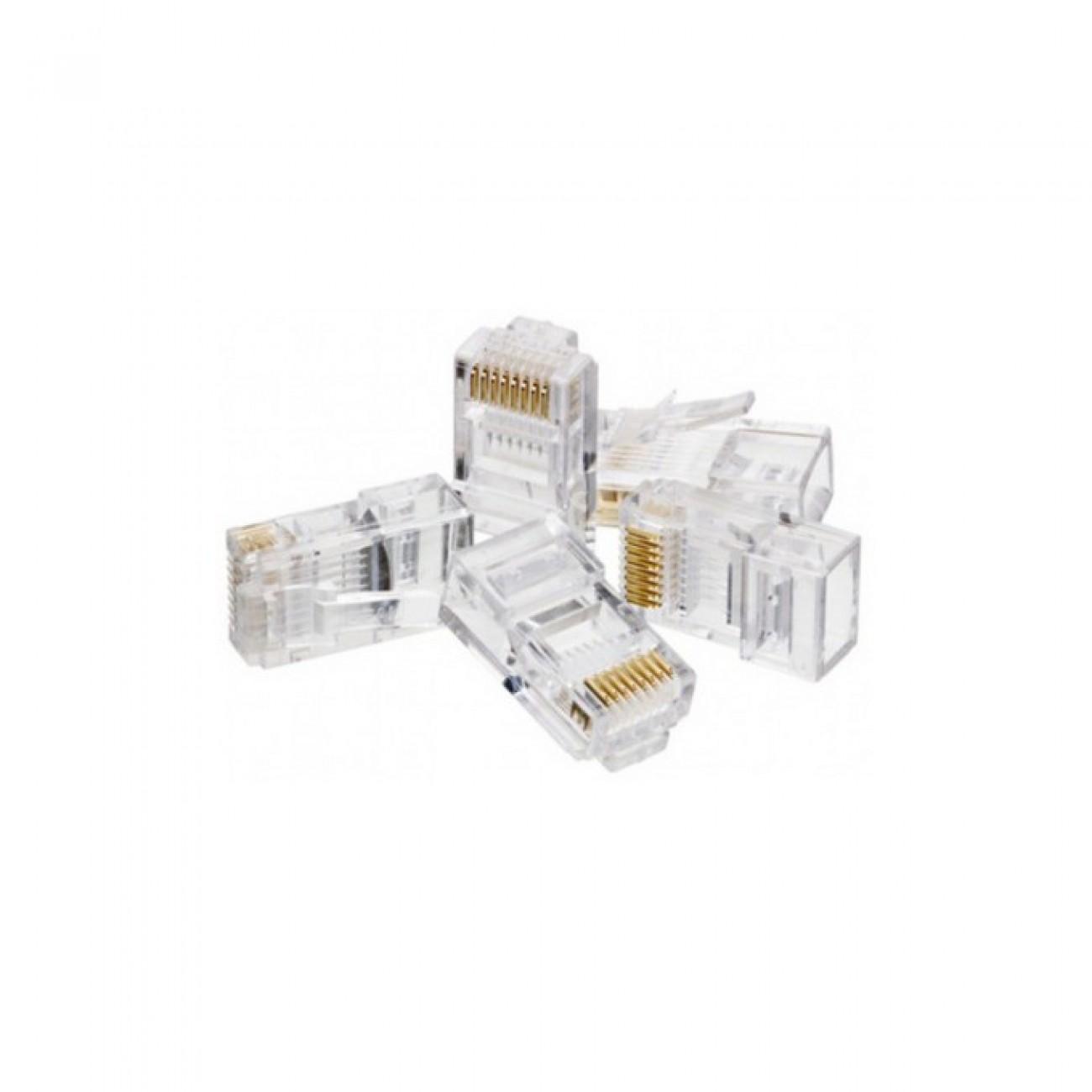 Букси RJ-45 200 бр. в пакет в Конектори за Медна мрежа -  | Alleop