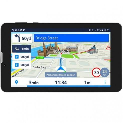 GeoVision Tour 3 Sygic, навигация за автомобил, 7 (17.8cm), 8GB вградена памет, SD/SDHC слот, microUSB, карта на Европа в GPS Навигатори -  | Alleop