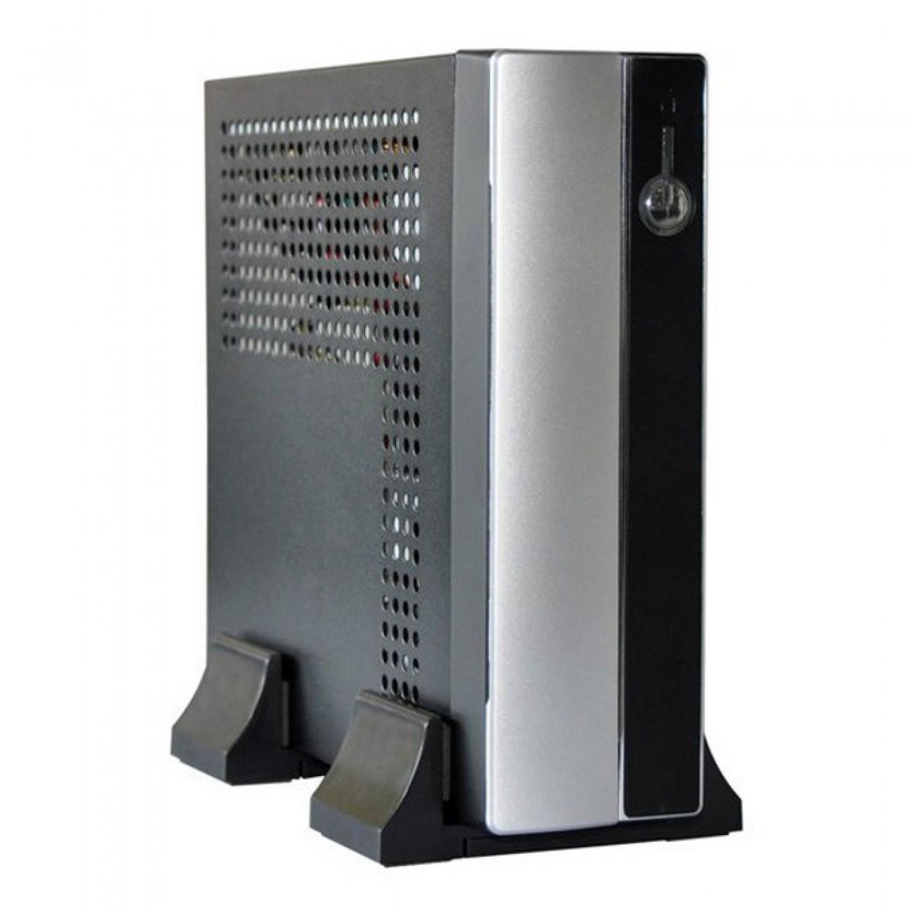 Кутия Realan E-mini E-3002, Mini-ITX, 2x USB2.0, E-SATA, 120W DC-DC, 12V/5A AC Adapter в Компютърни кутии -  | Alleop