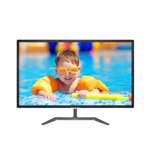 Монитор Philips 323E7QDAB, 32 (81.28 cm) IPS панел, Full HD, 5ms, 250 cd/m2, HDMI, DVI, VGA в Монитори -  | Alleop