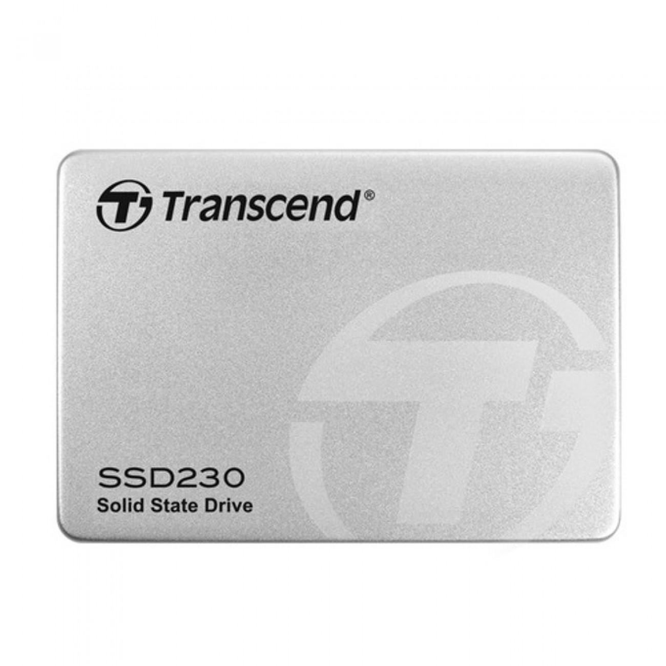 SSD 512GB Transcend SSD230S, SATA 6Gb/s, 2.5(6.35 cm), скорост на четене 560 MB/s, скорост на запис 520 MB/s в SSD дискове -    Alleop
