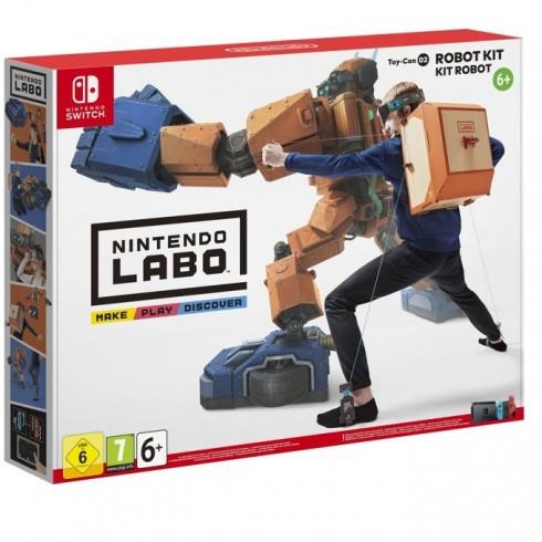 Nintendo LABO - Robot Kit, за Switch в Аксесоари за Конзоли -  | Alleop