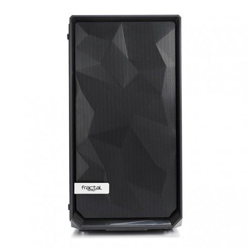 Кутия Fractal Design Meshify C Mini Dark TG, Micro ATX/ITX, черна, без захранване в Компютърни кутии -  | Alleop