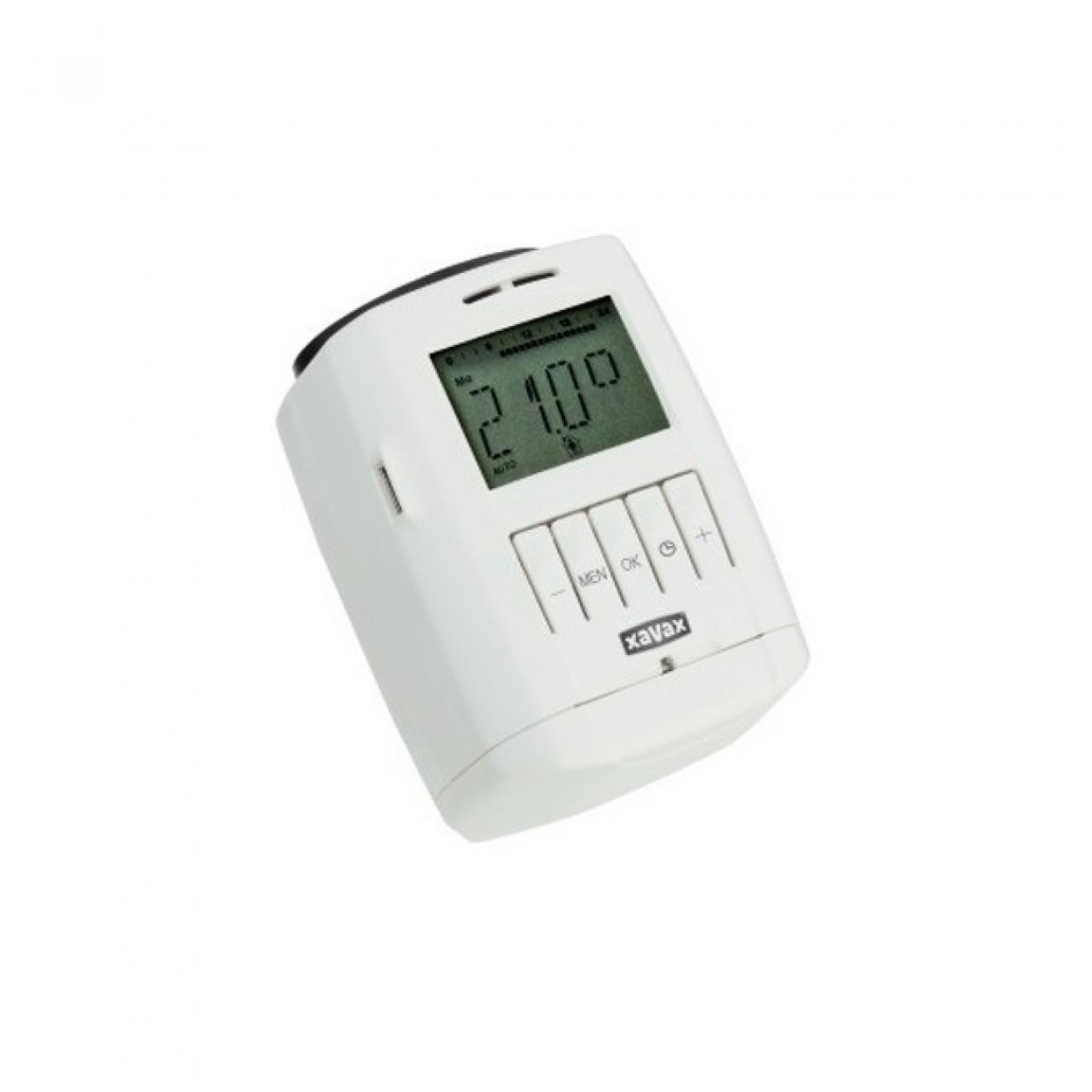 Терморегулатор Hama 111972, за радиатор, 8 програми, размер на резбата M30x1,5 в Друга Електроника за дома -  | Alleop